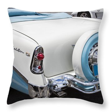 1956 Chevrolet Bel Air Convertible Throw Pillow