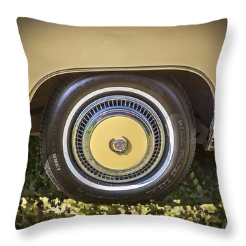 1978 Cadillac Eldorado Throw Pillow
