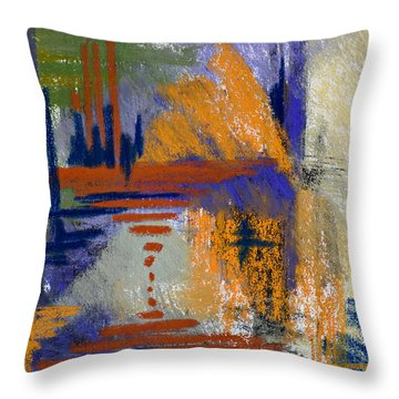 Through The Looking Glass Throw Pillow by Tracy L Teeter