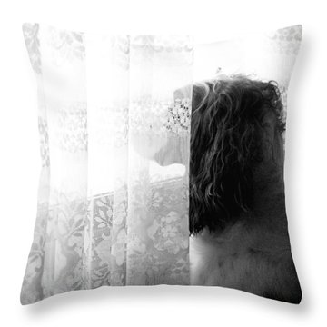 3 30 Throw Pillow