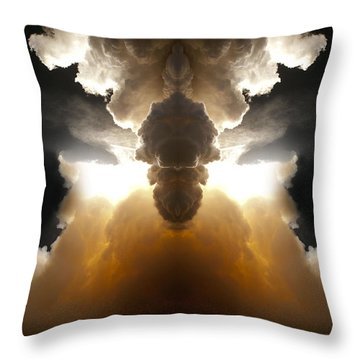 Abstract 125 Throw Pillow by J D Owen