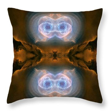 Abstract 54 Throw Pillow by J D Owen