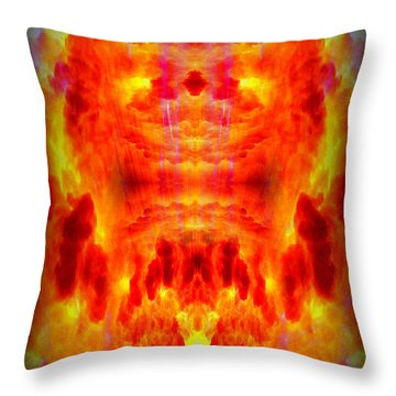 Abstract 70 Throw Pillow by J D Owen