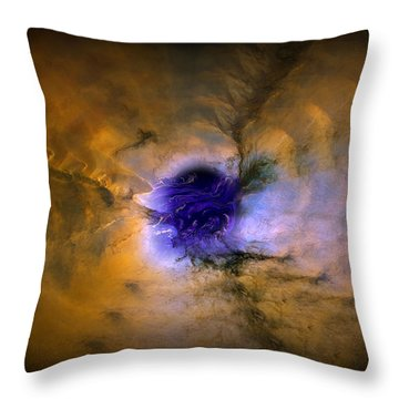 Abstract 82 Throw Pillow by J D Owen