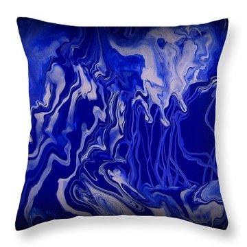 Abstract 87 Throw Pillow by J D Owen