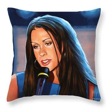 Alanis Morissette  Throw Pillow