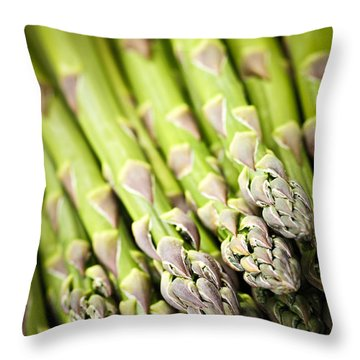 Asparagus Throw Pillows