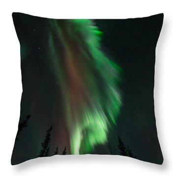 Aurora Corona Throw Pillow