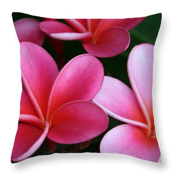 Breathe Gently Throw Pillow