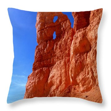Bryce Canyon National Park Throw Pillow by Rona Black
