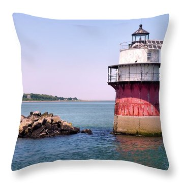 Bug Light Throw Pillow