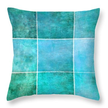 3 By 3 Ocean Throw Pillow