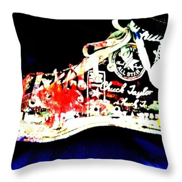 Chuck Taylor Throw Pillow