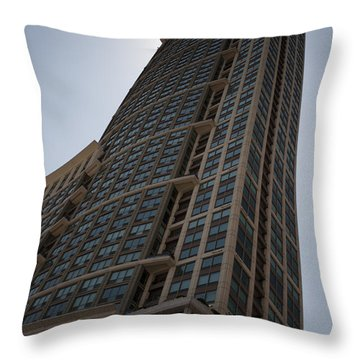 Throw Pillow featuring the photograph City Architecture by Miguel Winterpacht