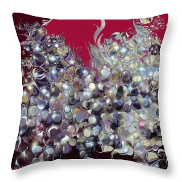 Design By Loxi Sibley Throw Pillow