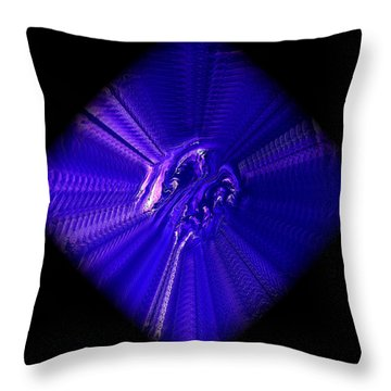 Diamond 201 Throw Pillow by J D Owen