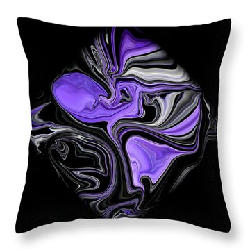 Diamond 206 Throw Pillow by J D Owen