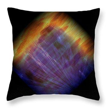 Diamond 215 Throw Pillow by J D Owen