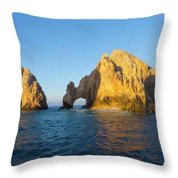 Cabo San Lucas Arch Throw Pillows