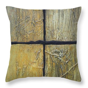 Four Seasons. Throw Pillow by Steve  Hester