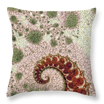 Fruit And Vegetable Throw Pillow