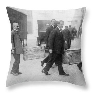 Germany Inflation, 1923 Throw Pillow by Granger