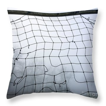 Goal Throw Pillow by Bernard Jaubert