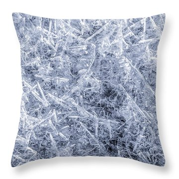 Ice On Minnehaha Creek 2 Throw Pillow