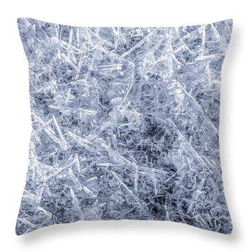 Ice On Minnehaha Creek 2 Throw Pillow