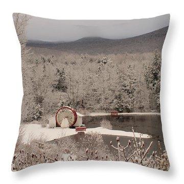 Indian Head Nh Throw Pillow