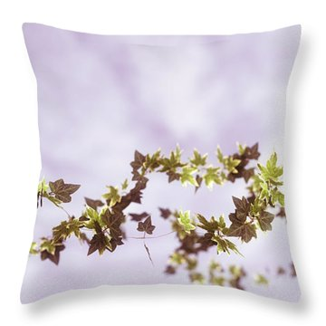 Ivy Throw Pillow by Matt Lindley