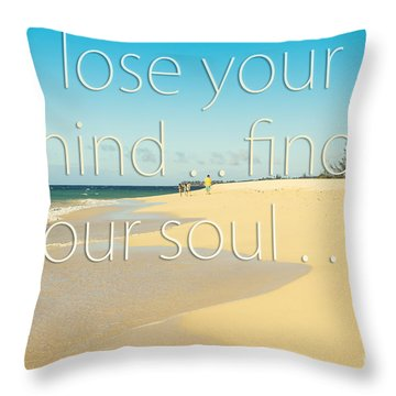 Kanaha Beach Maui Hawaii Throw Pillow by Sharon Mau