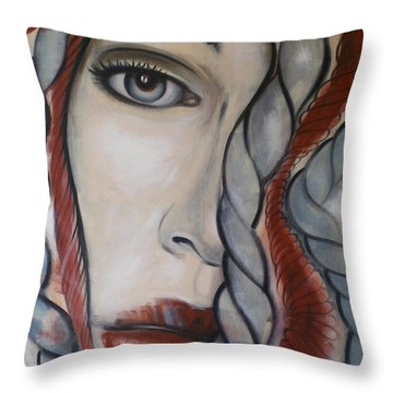 Melancholy 090409 Throw Pillow