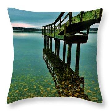 3 Mile Harbor Throw Pillow