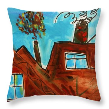 3 Million Tons Per Year Throw Pillow by Mary Carol Williams