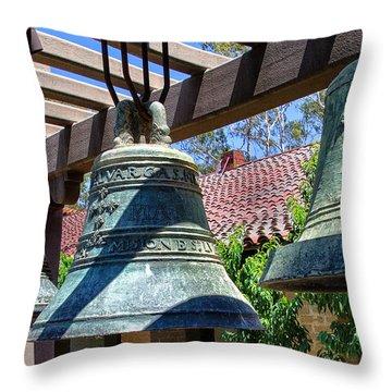 Mission San Luis Obispo - California Throw Pillow