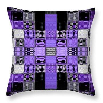 Motility Series 2 Throw Pillow by J D Owen