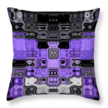 Motility Series 5 Throw Pillow by J D Owen