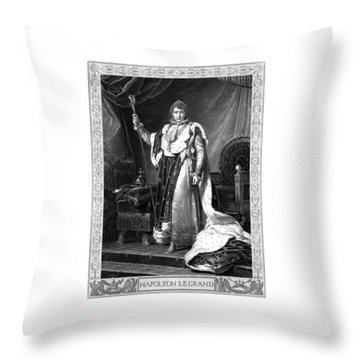 Napoleon Bonaparte Throw Pillow by War Is Hell Store