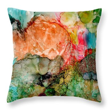 New Upload Throw Pillow by Susan Kubes