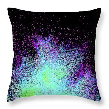 Pulsating Throw Pillows