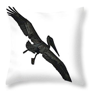 Pelican Selection Throw Pillow
