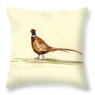 Pheasant Throw Pillows