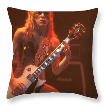 Blizzard Of Ozz - Randy Rhoads Throw Pillow