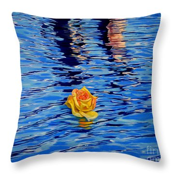 Roam With Freedom Throw Pillow