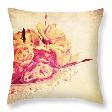 Romance Throw Pillow by Angela Doelling AD DESIGN Photo and PhotoArt