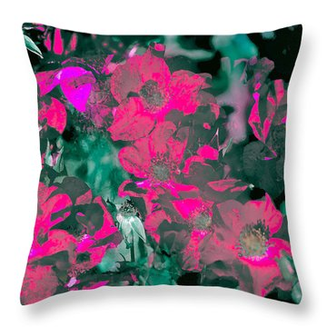 Rose 72 Throw Pillow