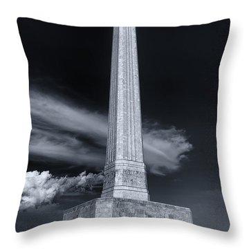 San Jacinto Monument One Sky One Star Throw Pillow