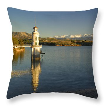 Sierra Nevada Throw Pillow by Guido Montanes Castillo