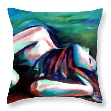 Silent Solitude Throw Pillow